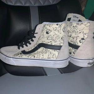 Dalmatian vans Sk8-Hi old skool shoes